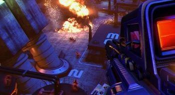 Helsprø bilder fra Far Cry 3: Blood Dragon