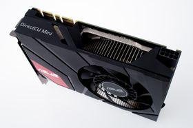 Asus GeForce GTX 670 DirectCU Mini krever en 8-pins PCIe-kontakt.