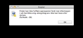 Presist og konsekvent i OS X.