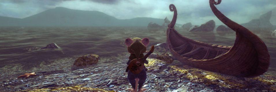 Lita mus på farlege eventyr