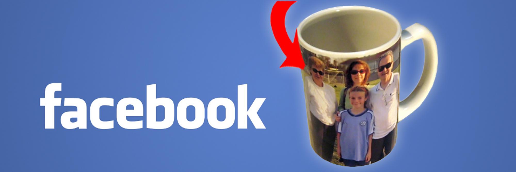 Facebook-venner kan bestille trykk av bildene dine