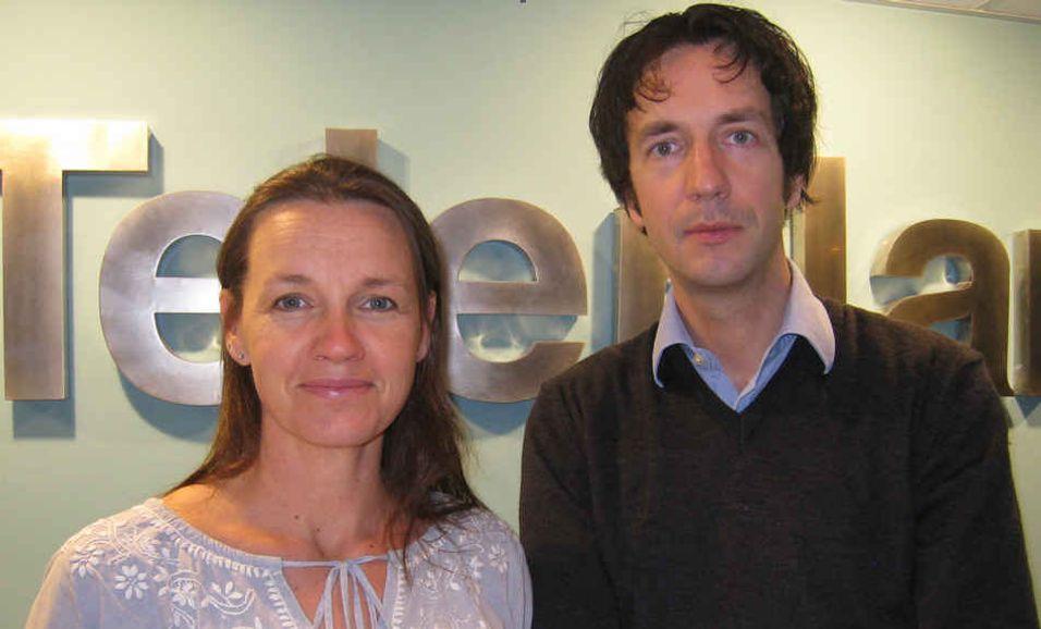 Kari Nordstad og Haakon Sandven, Teleplan Consulting.