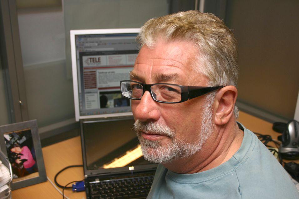Sjefredaktør Arne Joramo i Inside Telecom og Teleavisen.
