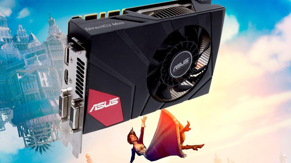 TEST: Asus GeForce GTX 670 DirectCU Mini