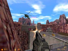 Half-Life ble bygd på en tungt modifisert versjon av Quake sin grafikkmotor.