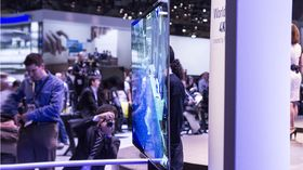 Panasonic viste fram denne OLED-TV-en på CES 2013 i januar.