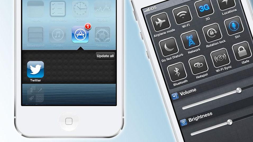 Designet sin egen versjon av iOS 7