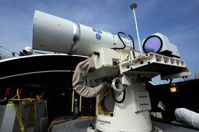 Laser Weapons System leker ikke butikk.
