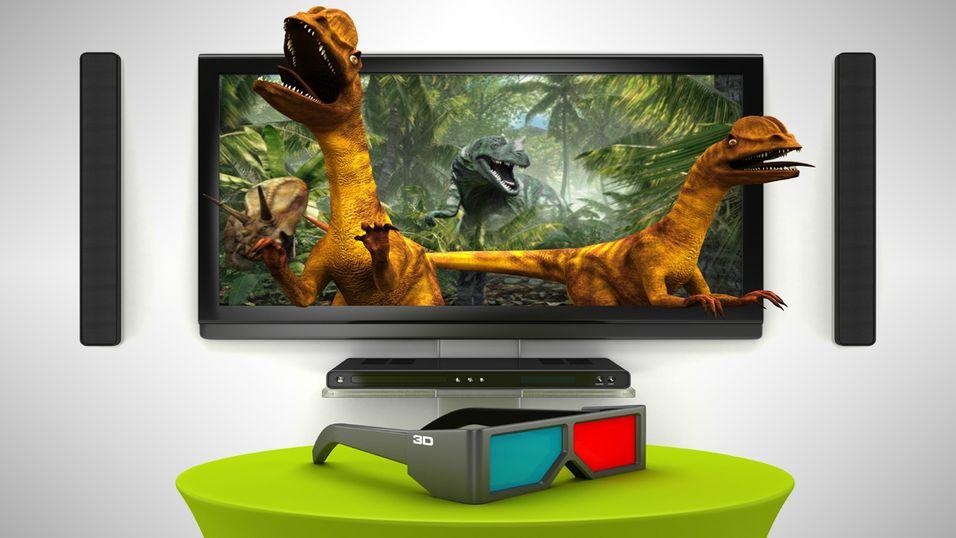 BBC har mistet troen på stereoskopisk 3D.