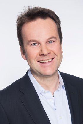 Informasjonsdirektør Henning Lunde i Tele2.