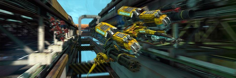 Luftig action i Strike Vector