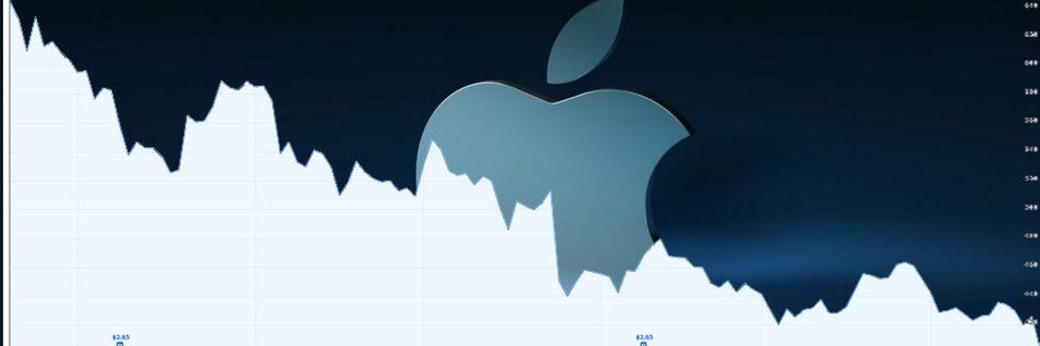 Apple ikke lenger USAs største selskap