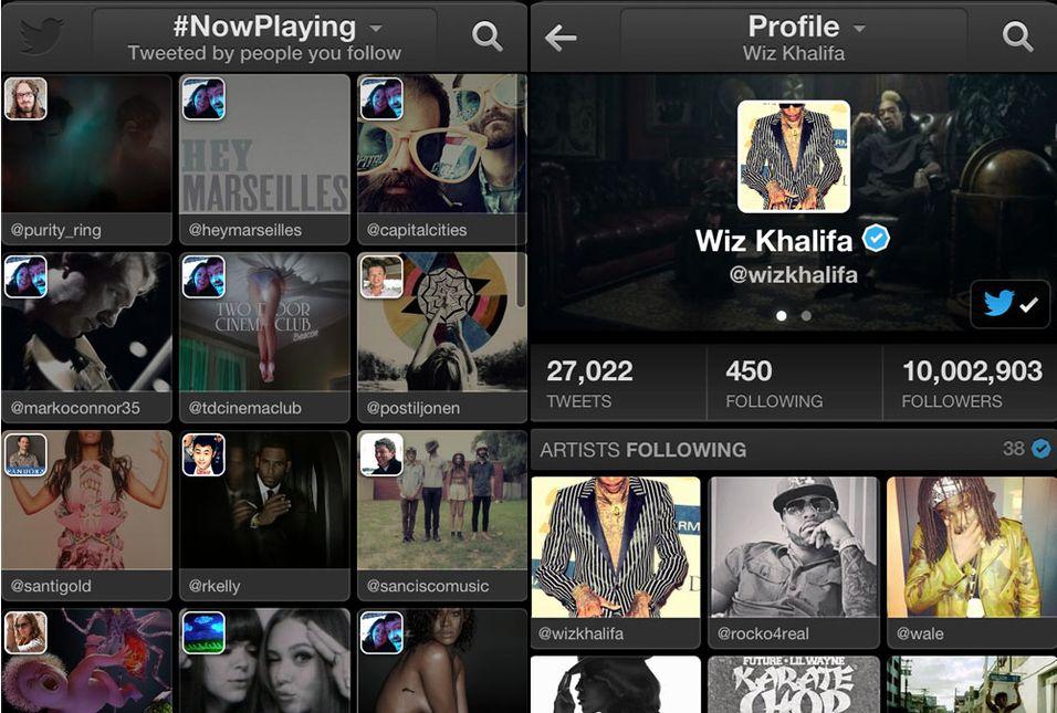 Twitter Music kommer som en nettjeneste og app.
