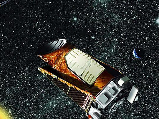 Keplerteleskopet: Jordens «øye» mot verdensrommet går i bane rundt solen. Målet med romteleskopet er blant annet å lete etter jordliknende planeter.