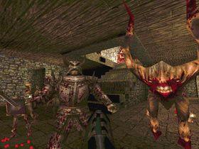 I Quake ble du angrepet av grufulle monstre i full 3D.