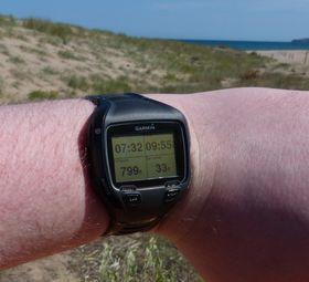 Forerunner 910 XT er en GPS-klokke med støtte for løping, sykling og svømming.