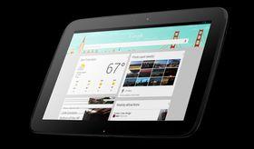 Google Now på nettbrettet Nexus 10.