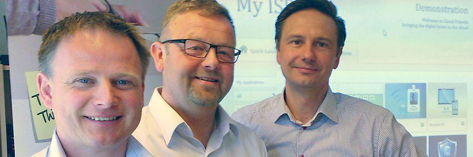 Trond Hovind, Arild Westring og Conny Franzén i Inteno har utviklet en applikasjonsbutikk og portal for bredbåndsoperatører og deres kunder.