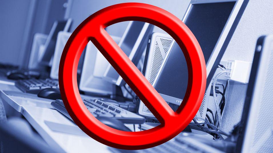 Danmark vil i praksis forby PC-er