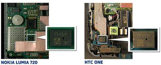 Slik ser de avanserte mikrofonene i Nokias Lumia-serie og HTCs nye toppmodell ut.