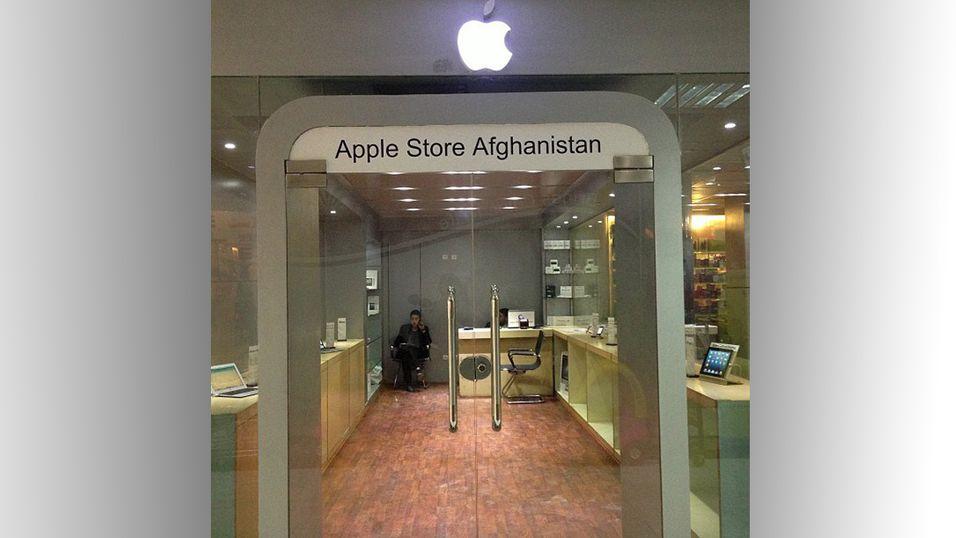 Apple ser ikke ut til å bry seg om denne butikkens eksistens.