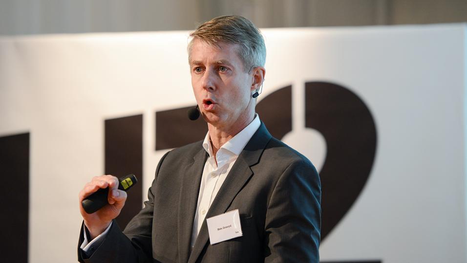 Konsernsjef Mats Granryd i Tele2.