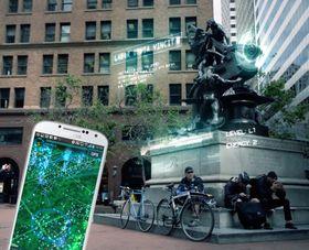 Med spillet Ingress skal du ta kontroll over virtuelle portaler som befinner seg på fysiske steder, og linke dem sammen for å kontrollere landområder.