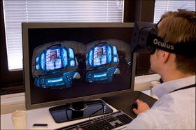 Det gikk relativt kjapt å venne seg til mus- og tastaturstyring selv i Half-Life 2, som ikke er tilpasset Oculus Rift.