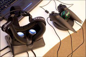 Oculus Rift og Razer Hydra sammen lar deg bruke hendene i den virtuelle verdenen.