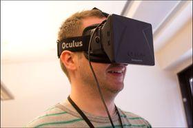 Også Gamer.no koste seg med Oculus Rift.