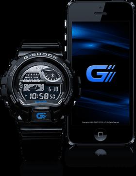 Casio G-Shock GB-6900AA trenger en iPhone-app hvis du vil bruke mobilfunksjonene.
