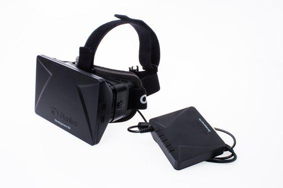 Oculus Rift Development Kit.
