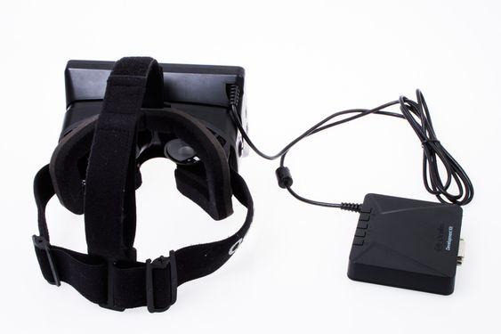 Oculus Rift ser tyngre ut enn den er.