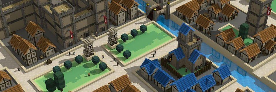 Minecraft møter The Settlers