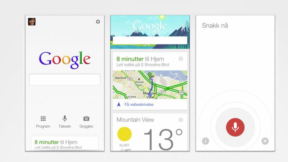 Google Nå klar for iPhone