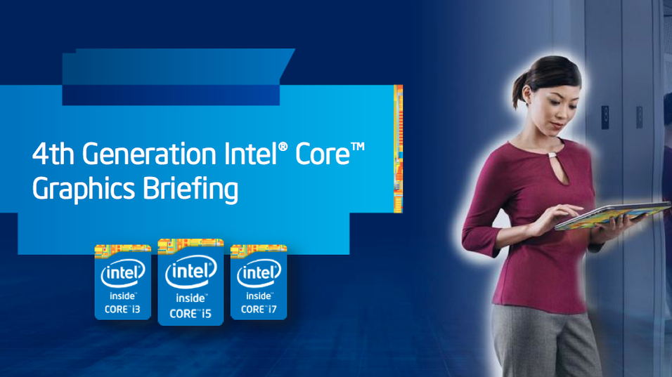 Intel har nå avslørt hvordan de mener at grafikken i Haswell-arkitekturen skal prestere.
