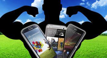 HTC One vs. Sony Xperia Z vs. Samsung Galaxy S4 Sjekk hvilken toppmodell du bør velge
