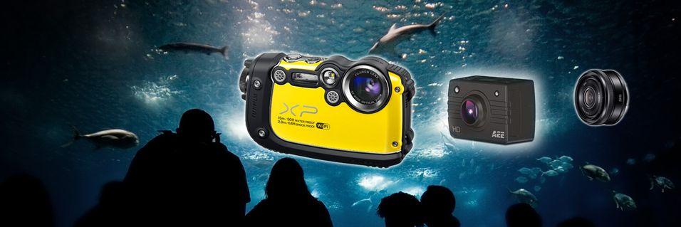 Her er mai-kameraene