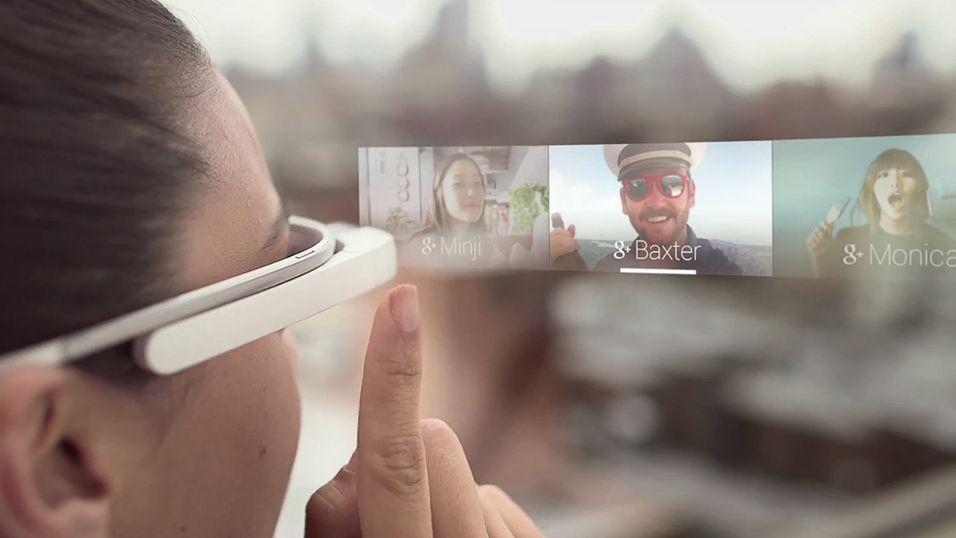 Nå får vi enda flere inntrykk av hvordan Google Glass blir i praksis.