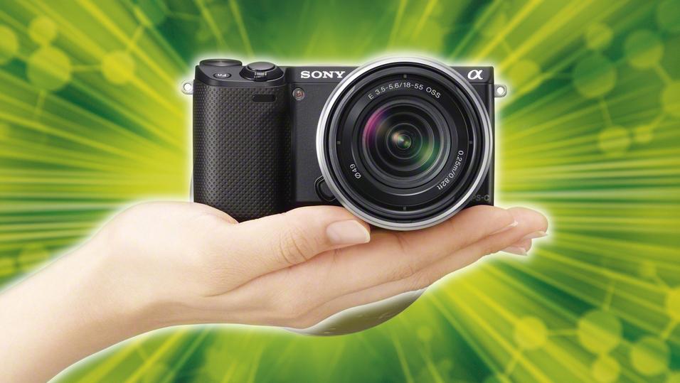 KONKURRANSE: Vinn systemkamera fra Sony