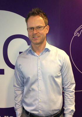 Leder for privatmarked i NetCom, Karl Fredrik Lund.