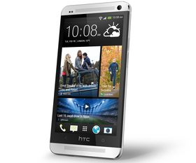 HTC One er bygget i aluminium og glass.