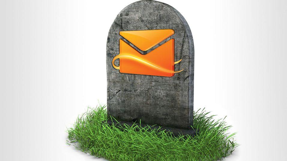 Nå er Hotmail død for godt