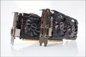 Asus GeForce GTX 650Ti BOOST DirectCU II OC.