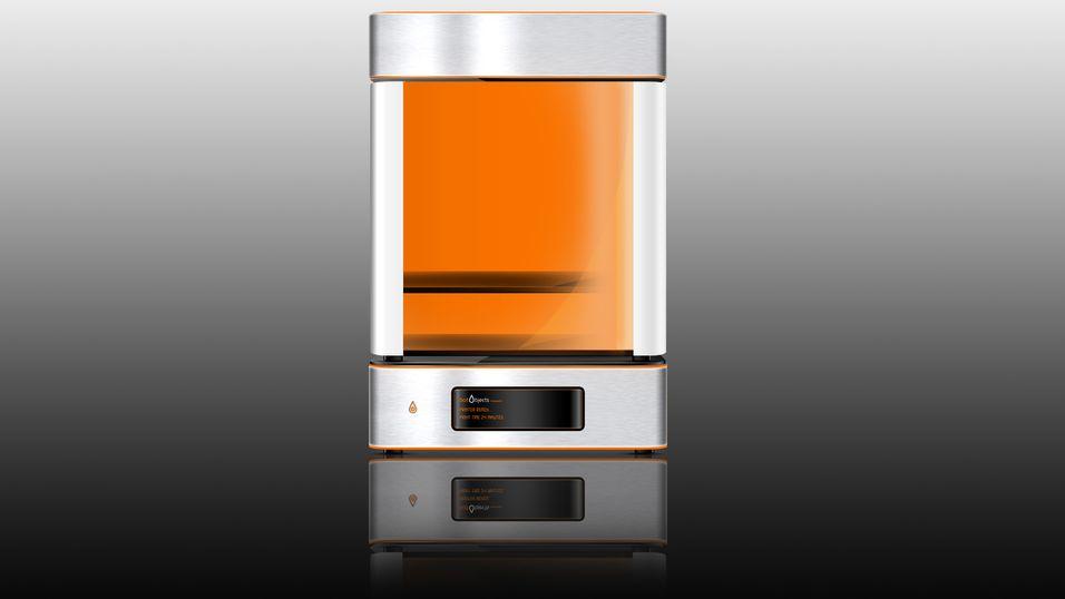 Aluminiumskarossseri og gjenbrukbare «blekkpatroner» er noen av momentene botObjects trekker frem ved sin ProDesk3D-maskin.