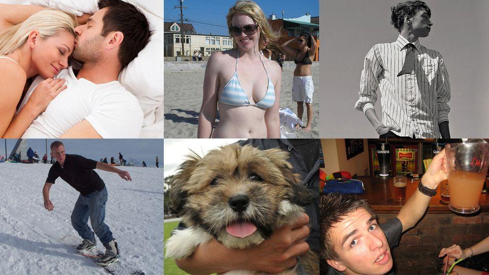 De 10 vanligste profilbildene på Facebook