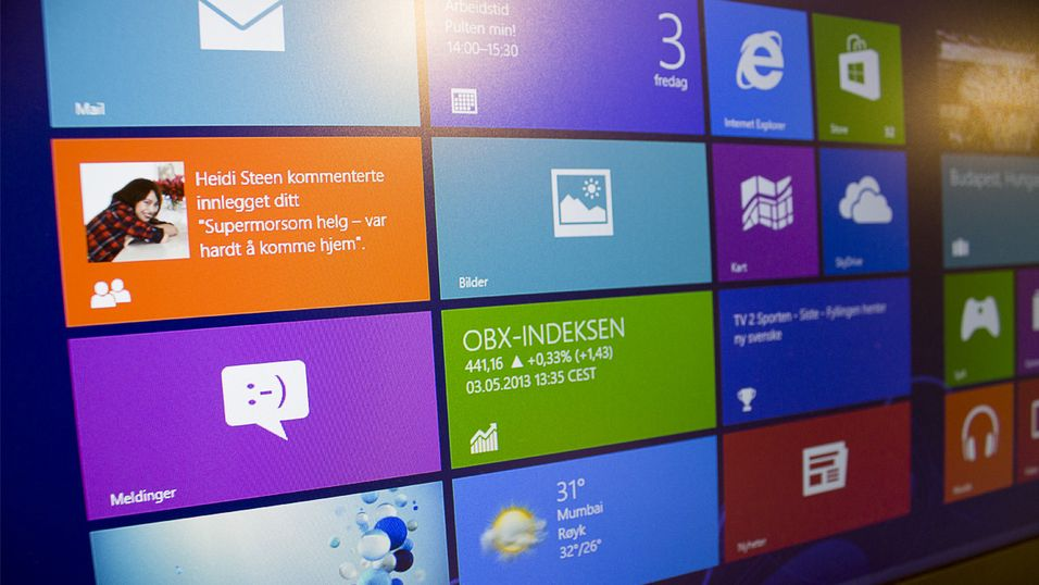 Salgstallene for Windows 8 er nesten identiske med Windows 7 i samme periode.