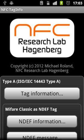 Det finnes en rekke apper i Google Play som lar deg lese av informasjon via NFC.