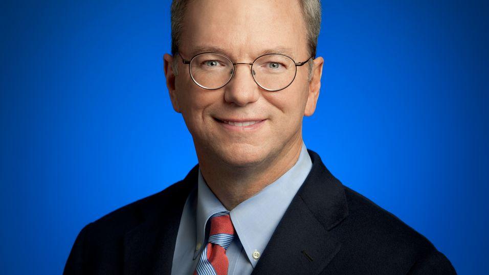 Google-sjef Eric Schmidt.