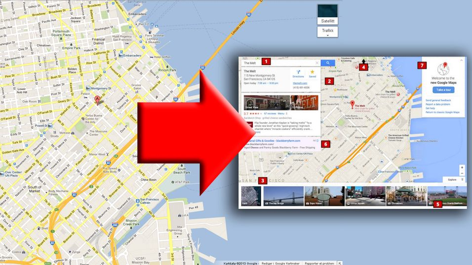 Svevende kort og ny design er noe av det vi kan ha i vente i Google Maps.
